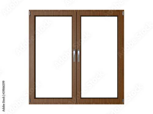 canvas print picture holzfenster zu