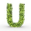 Texteffekt Moleküle grün U