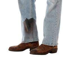 Conceal Carry Weapon Hidden in Boot