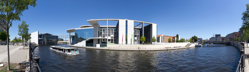 Panorama Berlin an der Spree