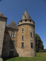 Château de Coussac-Bonneval ; Limousin ; Périgord