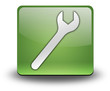 "Green 3D Effect Icon ""Mechanic"""