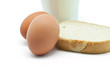 Huevos,leche y pan
