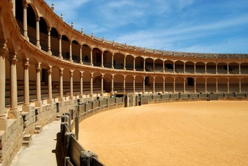 Spain's oldest bullring, Ronda © Arena Photo UK