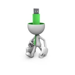 Gentleman USB the brain