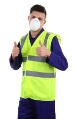 Dust mask guy