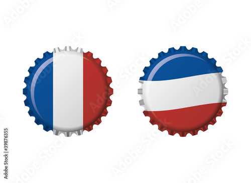 Francia bottle caps