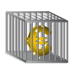 Euro encarcelado