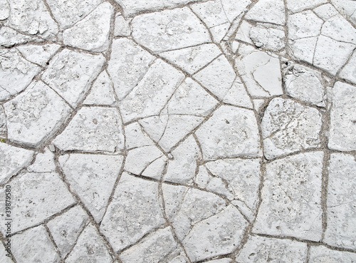 Dry cracked mud texture