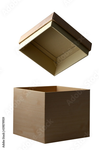 Open box isolated