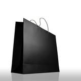 Glaze shopping bag isolated