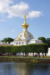 Russia, Petergof, Peter's and Paul's Church