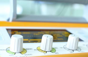 controllers of ventilator.