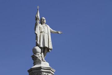 Columbus Monument in Madrid