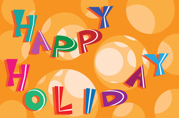 Happy holiday