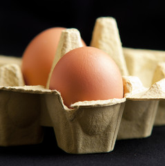 eggs in a package