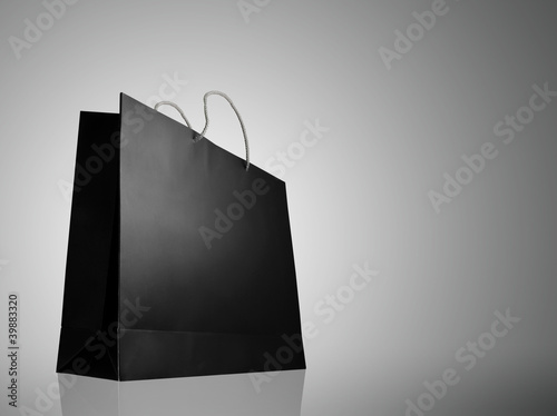 Glaze shopping bag with lighting highlight