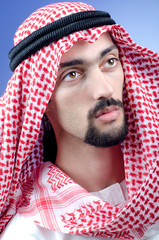 Man in arab clothing