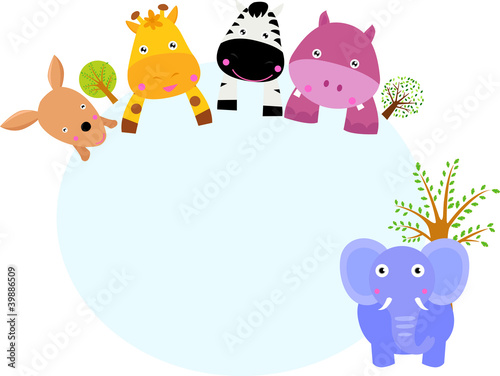 """u975eu6d32""]copyspace世界全球剪贴画动物动物园可爱的哺乳动物"