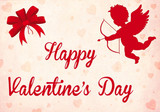 Happy Valentine's Day with Cupido