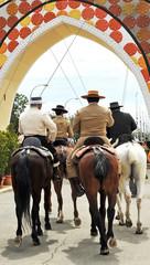 A caballo por la Feria