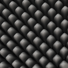 Abstract grey geometrical 3d backgrond