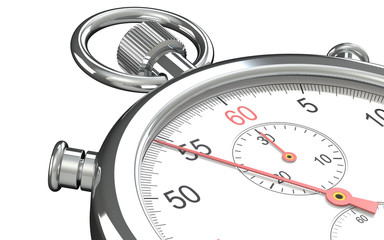 Stopwatch. Close up of a Stopwatch.