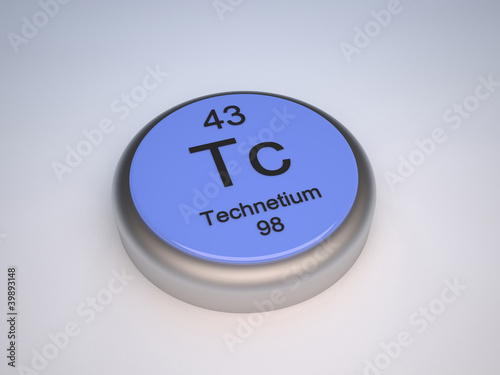 Technetium blue capsule