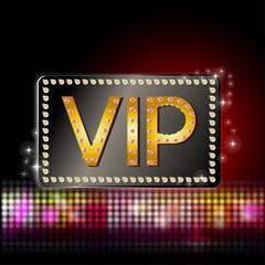 VIP - Schild