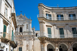 Fototapety Alleyway. Martina Franca. Puglia. Italy.