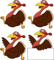 Turkey cartoon