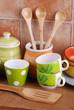 utensili da cucina in ceramica - uno