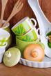 utensili da cucina in ceramica - quattro
