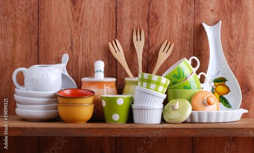 utensili da cucina in ceramica - tre