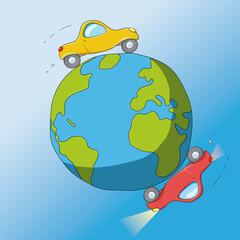 automobili intorno al mondo