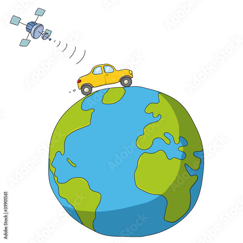 automobile e satellite