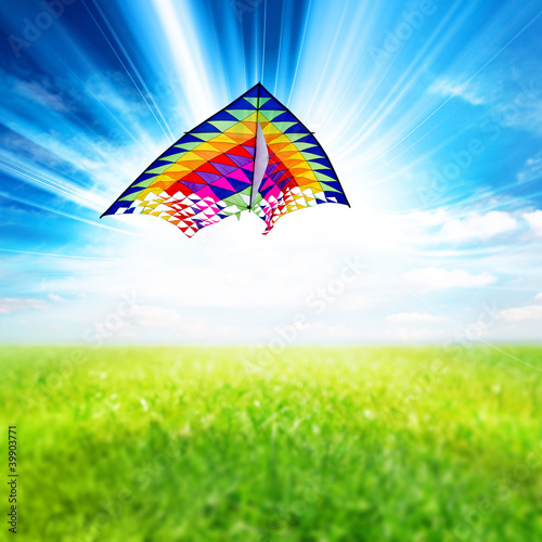 sunlight kite