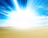 sunlight sand beach