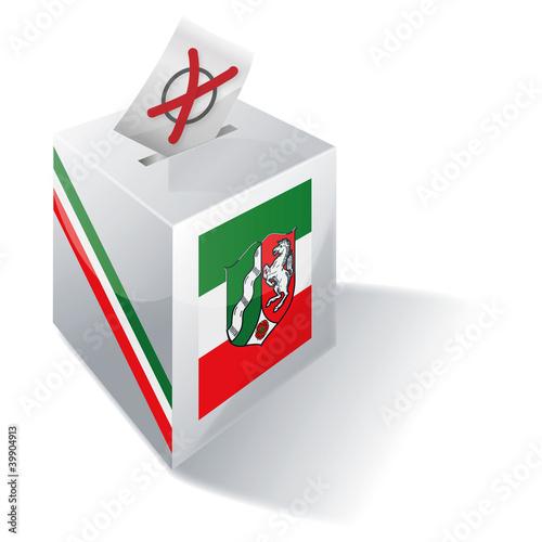Wahlbox Nordrhein-Westfalen