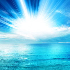 vibrant seascape