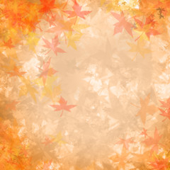 Maple leaves texture and background.