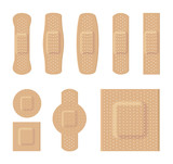 Bandages various sizes body color