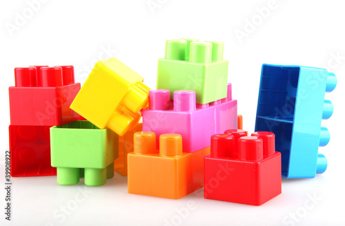 Plastic building blocks © Nenov Images