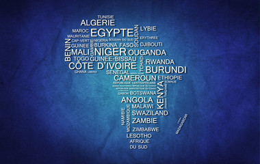 Afrique (Bleu)