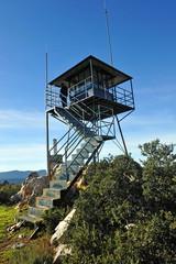Torre de vigilancia forestal