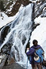 Rachitele waterfall in Transylvania, Romania