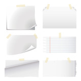 set of white paper