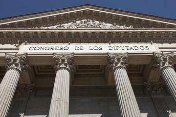 Palacio de las Cortes en Madrid