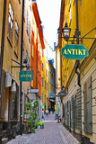 The street of The Old Town (Gamla Stan) in Stockholm - 39920138