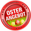 Button Osterangebot Ostereier rot